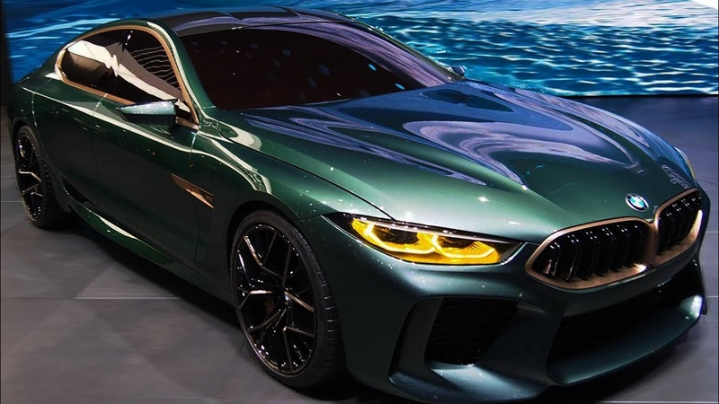 NEW 2019 - BMW M8 Gran Coupe 6.6l twin turbo V12 500 hp Sport - Interior and Exterior 1080p