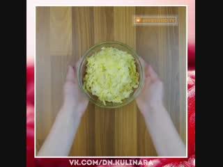 Французский салат.  Рецепт просят все, кто пробует. Уже знаю, что приготовлю сегодня.
