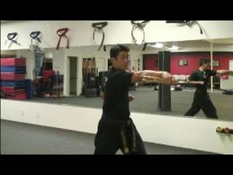 Advanced Nunchucks Techniques : Side Spin Combo With Nunchucks