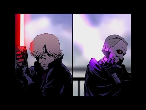 Dark Empire Dark Luke Skywalker vs Darth Sidious Reborn (Resound)