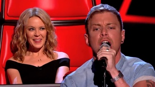Lee Glasson performs 'Can't Get You Out Of My Head'   The Voice UK - BBC