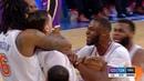Mario Hezonja Denies LeBron James GAME-WINNER! - Lakers vs Knicks | March 17, 2019