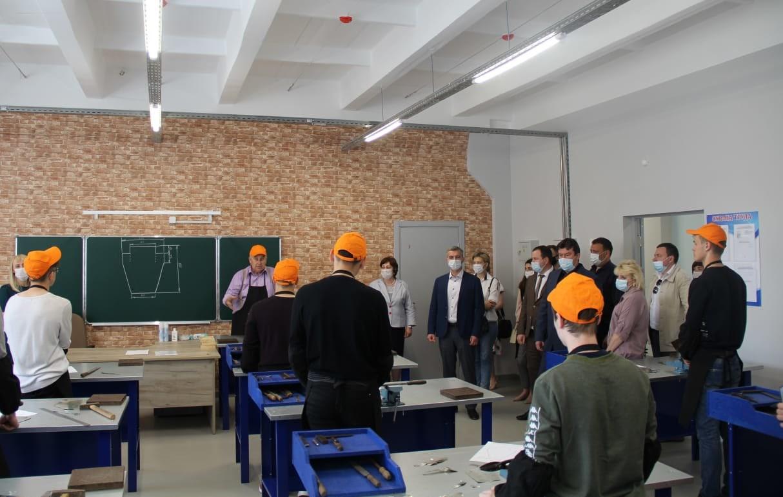 Открытыие учебно-производственных мастерских .26.05.21