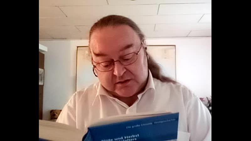 Egon Dombrowsky 10 10 2020 331 Stunde zur Weltgeschichte 849 Geschichtsstunde