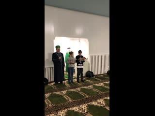 Маулид Ан-Наби в мечети г.Пласта, 2020 г.
