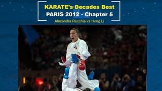 Alexandra Recchia at her best | Karate Paris 2012
