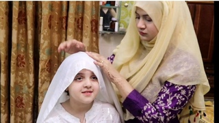 Easy layered Hijab Tutorial Without Inner Cap🧕♥️ AMBER NAZ OFFICIAL