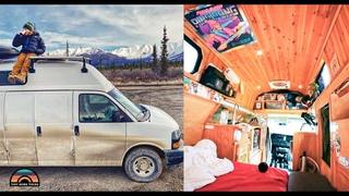 Stealth Chevy Hightop Camper Van With Shower & Toilet - Full Time Vanlife