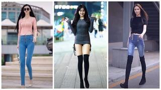 Mejores Street Fashion Tik Tok   Thời Trang Đường Phố Trung Quốc #24