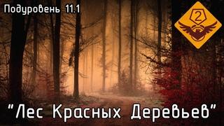 """Подуровень 11.1 - """"Лес Красных Деревьев"""" (The Backrooms)"""