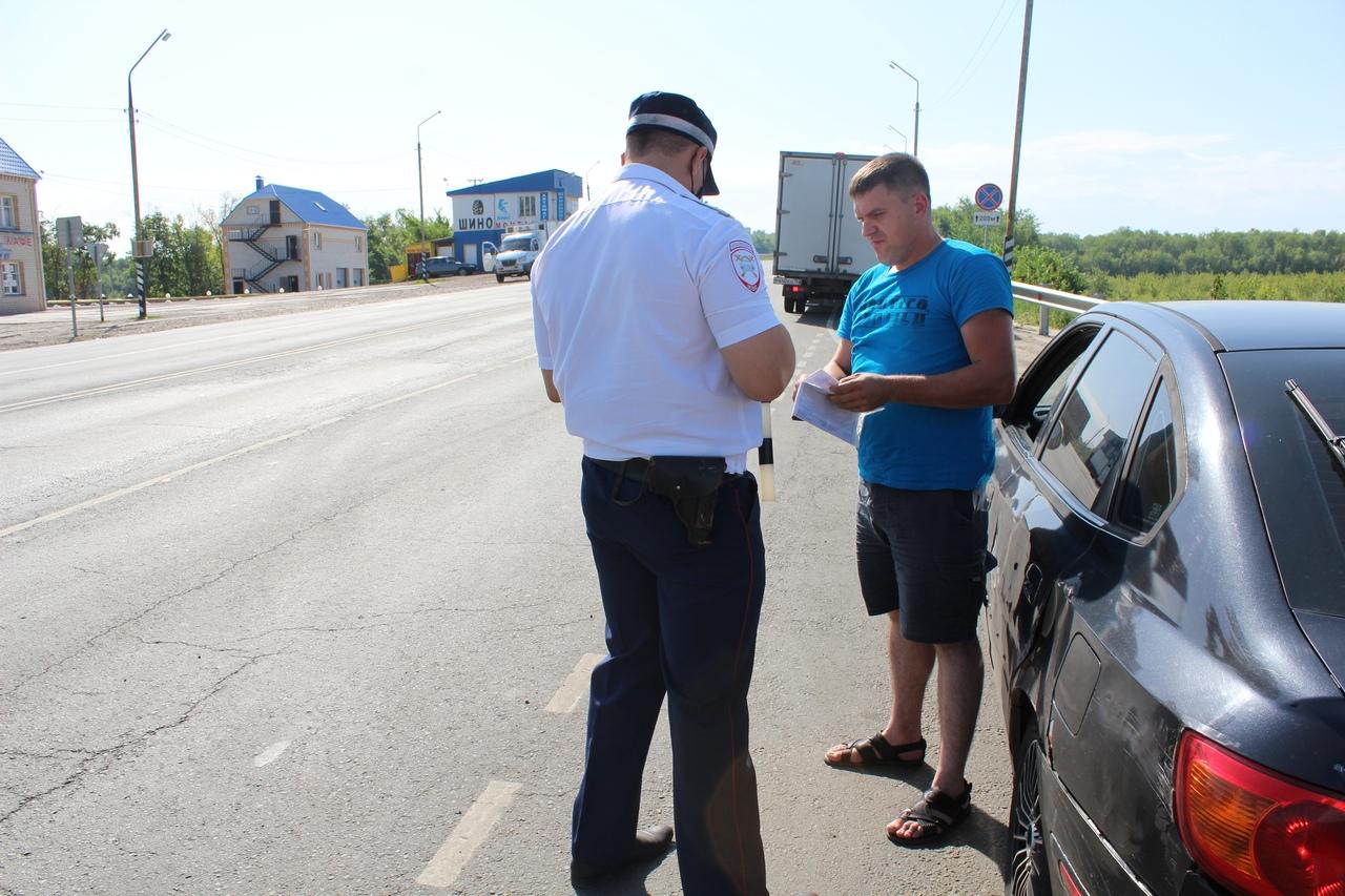 Госавтоинспекция Петровского района провела профилактическую акцию