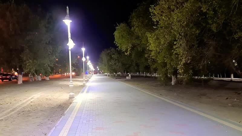 Новый фонтан ОМЦ Тротуар Фонари 1 Minute Story