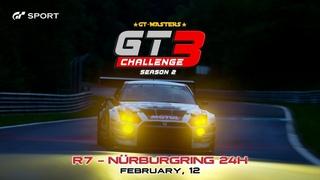 GT3 CHALLENGE (S2) ► R7 - NÜRBURGRING 24H (Night) / #gtsport