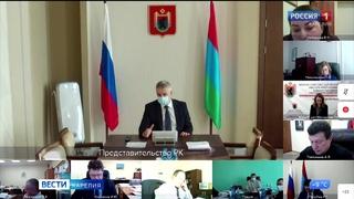 Артур Парфенчиков провел совещание по вопросам социально-экономического развития Пудожского района