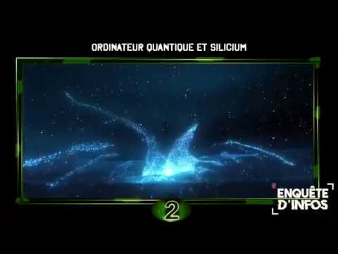 🌐Ordinateur quantique et Silicium