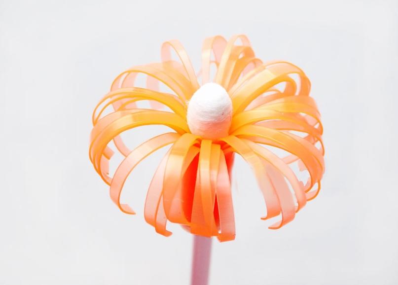 Мастер-класс «Разноцветные цветы», изображение №9