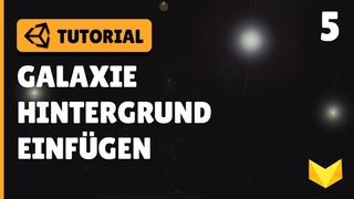 UNSERE Galaxie als HINTERGRUND | Unity 2D Space Shooter Tutorial Deutsch | Part 5