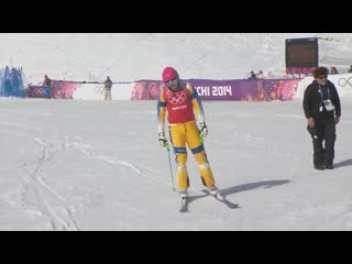 Crazy Photo Finish In Mens Quarter-Final - Sochi 2014 Winter Olympics