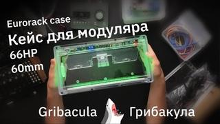 Еврорек кейс Eurorack Case Gribacula 66HP 60mm