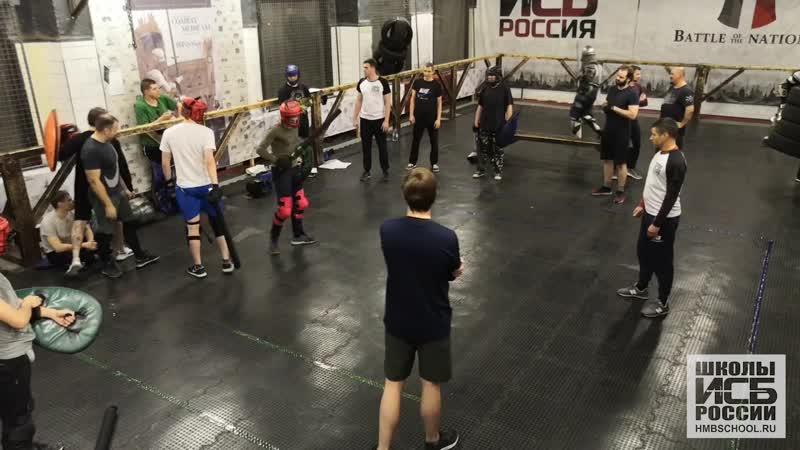 Щит-меч новички мужчина. Внутришкольный турнир Школы ИСБ СПБ 15.11.2020