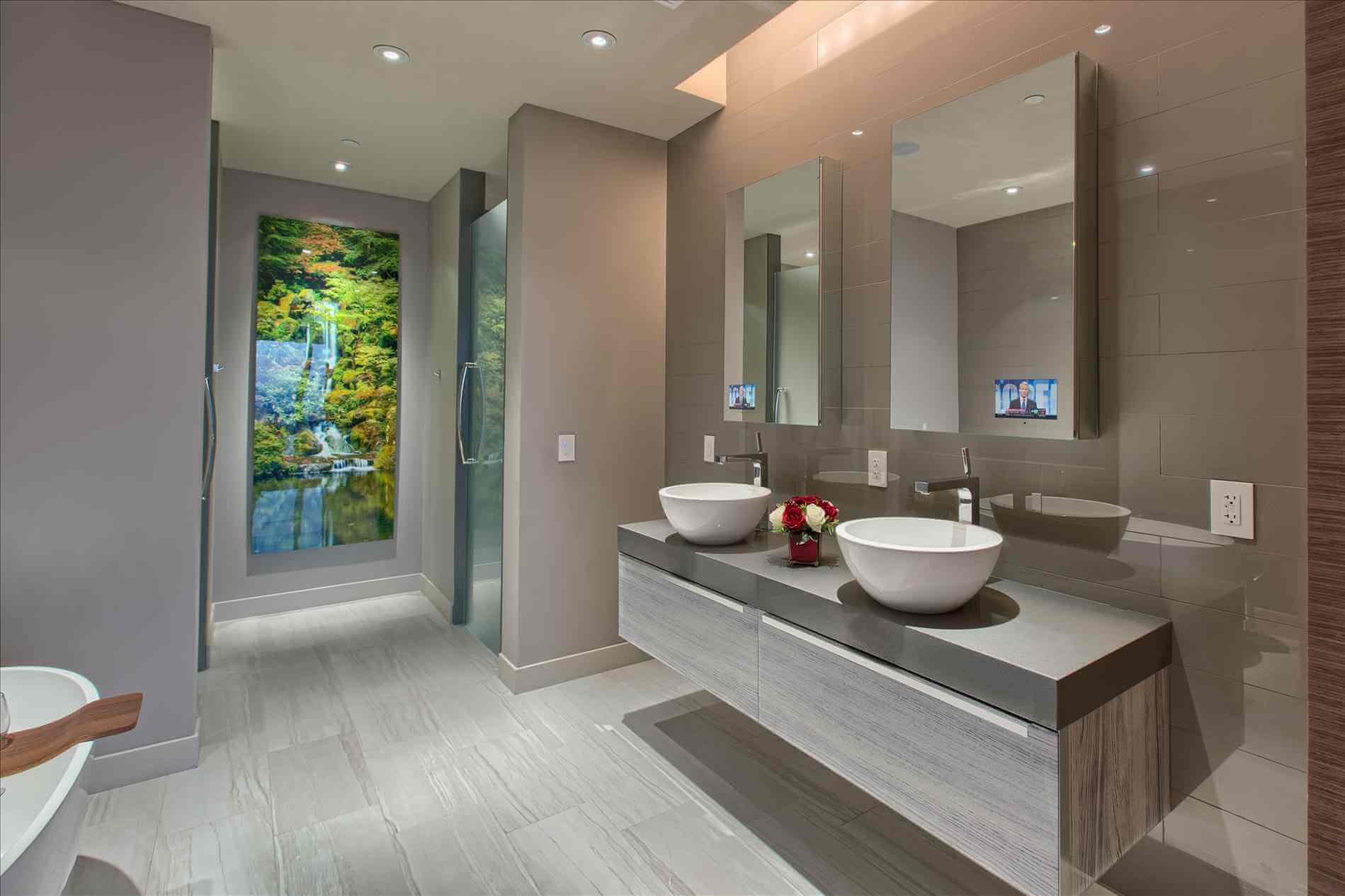 ванная комната современный интерьер