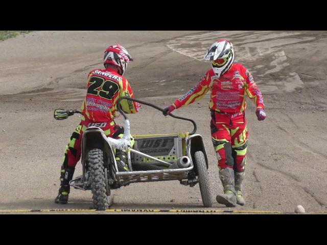 GP Sidecarcross Kivioli 2017: Team Sanders/Soenens