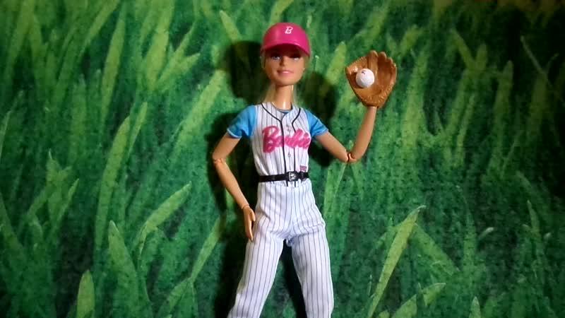 Обзор на Барби Йога Бейсболистка Made to Move-Безграничные Движения