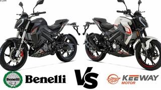 Benelli tnt 165s VS Keeway rkf  bike price & full specifications  by Mh Hamza