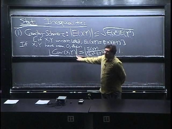 Lecture 28 Inequalities | Statistics 110