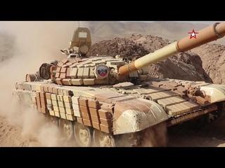 Российские танкисты выдвинулись к границе Афганистана
