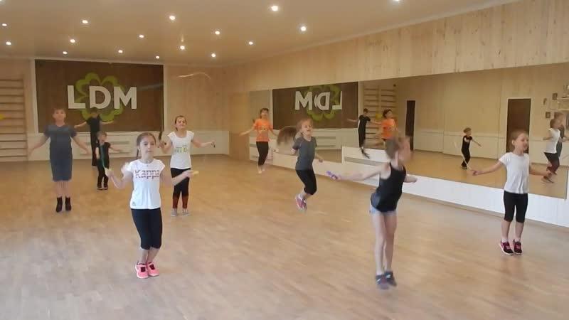 Общая физическая подготовка танцоров СТК La danza magnifica