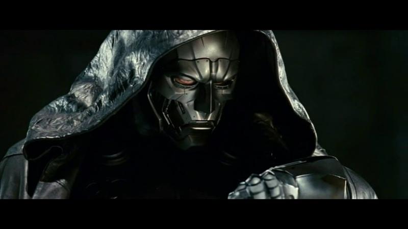 Доктор Дум ворует доску Серебряного Сёрфера Фантастическая четвёрка 2 2007