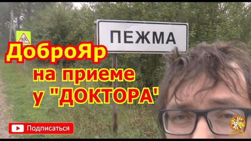 ДоброЯр в гостях у ДОКТОРА (Пежма)!!