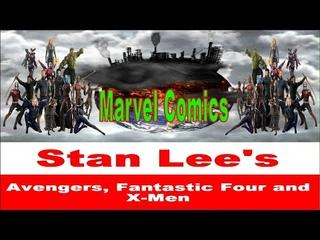 Marvel Comic Books - Avengers, Fantastic Four and X-Men Comic Books in YouTube HD