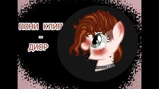 ПОНИ КЛИП-ДИОР (ЕГОР ШИП) ПОНИ АНИМАЦИЯ (PMV)