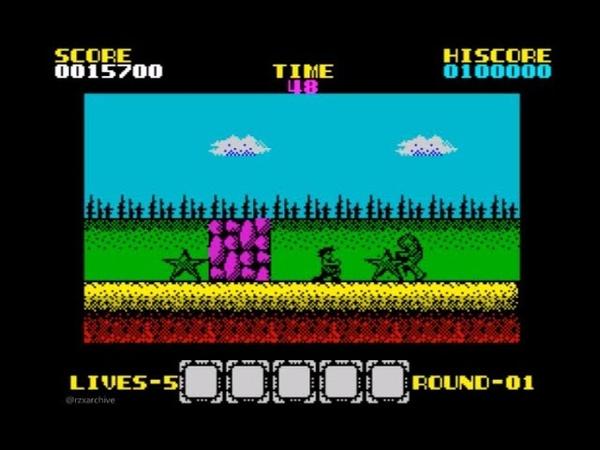 Rygar (Graphics Mod) Walkthrough, ZX Spectrum
