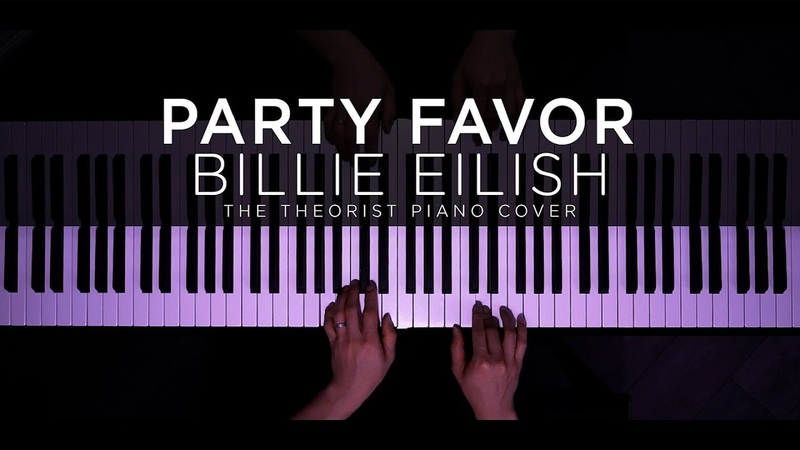 Billie Eilish party favor The Theorist Piano Cover