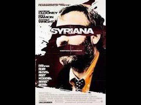 Syriana 2005 Movie George Clooney Matt Damon Amanda Peet