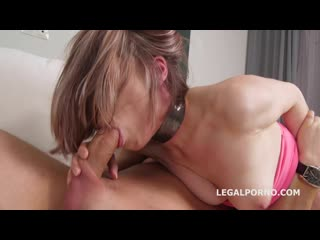 Mr. anderson anal casting with emmi accel first time anal with balls deep action, gapes and cum in mouth gl102