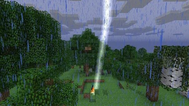 майнкрафт мод когда дождь #10