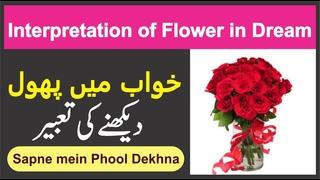 Interpretation of Flower in Dream Munajat    Khwab mein Phool Dekhna    خواب میں پھول دیکھنے کی عبیر