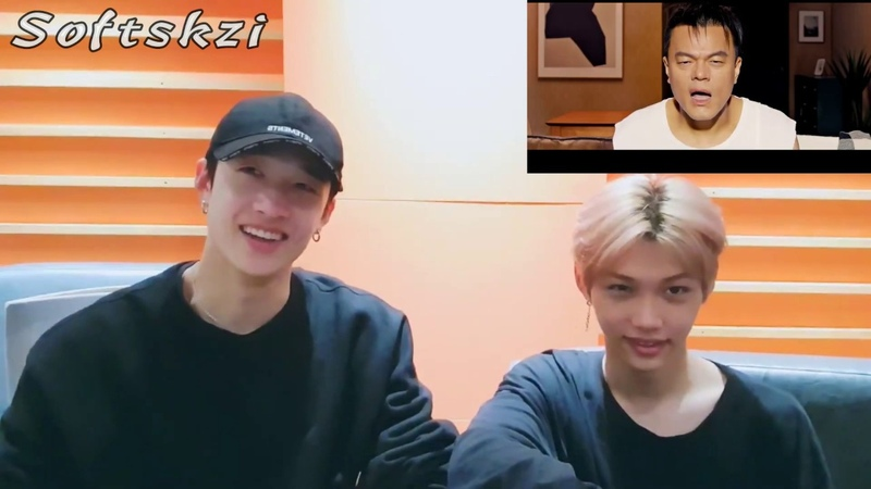 Stray Kids 스트레이키즈 Bang Chan Felix React To 박진영 J Y Park FEVER Feat 수퍼비 BIBI M V
