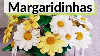 MARGARIDAS EM  (COLEÇÃO MINI FLORZINHAS)