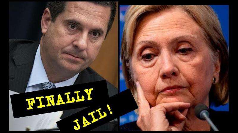 'HILLARY CLINTON TO JAIL' Devin Nunes Unload on hillary Clinton as new evidence emerge