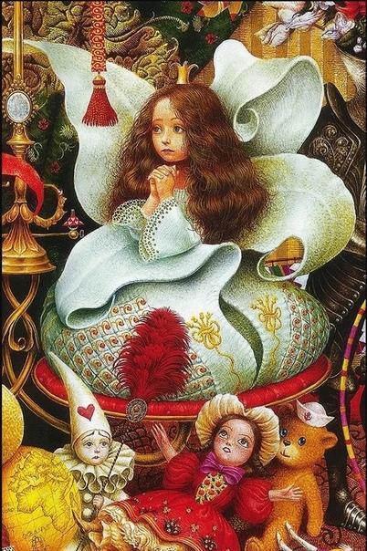 В иллюстрации Владислава Ерко малыши влюбляются с первого взгляда Да что и говорить, их родители тоже не могут оторваться от красочных, наполненных мельчайшими деталями рисунков.Их автор -