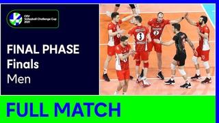 Ziraat Bankasi SK ANKARA vs. Allianz Powervolley MILANO - CEV Volleyball Challenge Cup 2021 Men F
