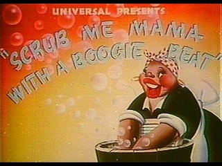 Scrub Me Mama With A Boogie Beat (1941)   Banned Cartoon