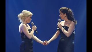 Megan Hilty & Stephanie J Block reunite at the 2013 Steve Chase Humanitarian Awards gala