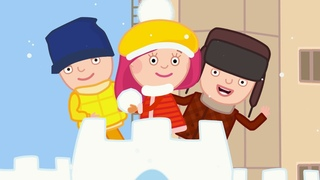Развивающие мультики для детей - Смарта и чудо-сумка - Большой СБОРНИК зимних серий