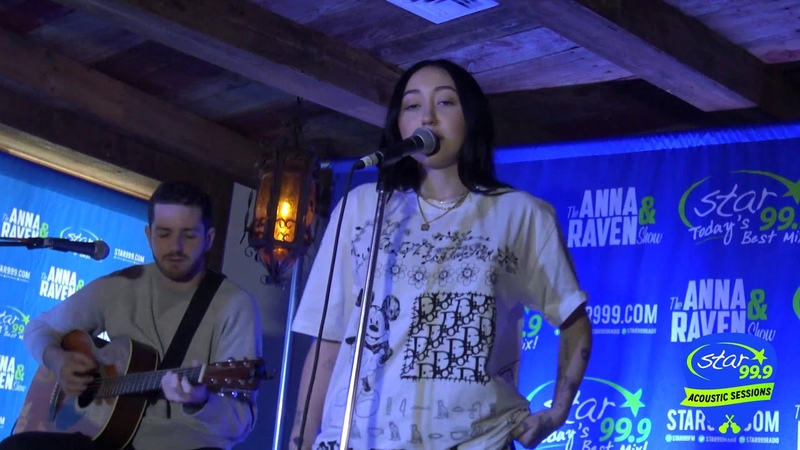 Star 99 9 Acoustic Session with Noah Cyrus Lonely